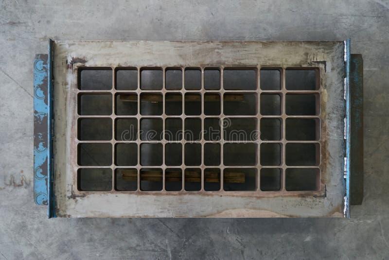 Большой ангар склада интерьера фабрики стоковое изображение rf