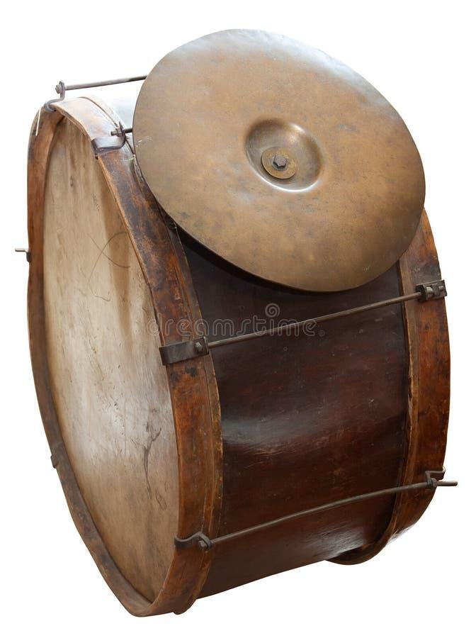 большой барабанчик старый стоковые фотографии rf