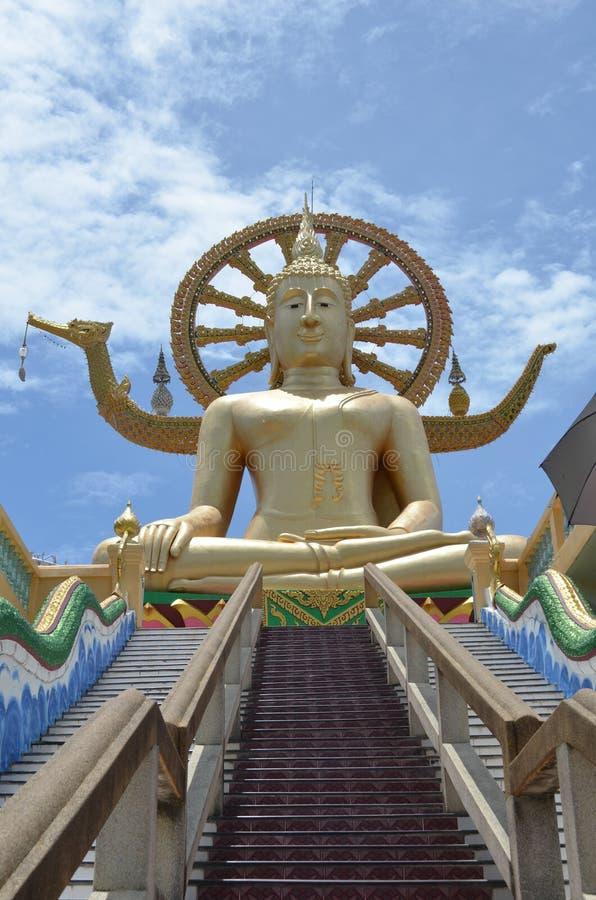 Большой Будда вверх стоковое изображение rf