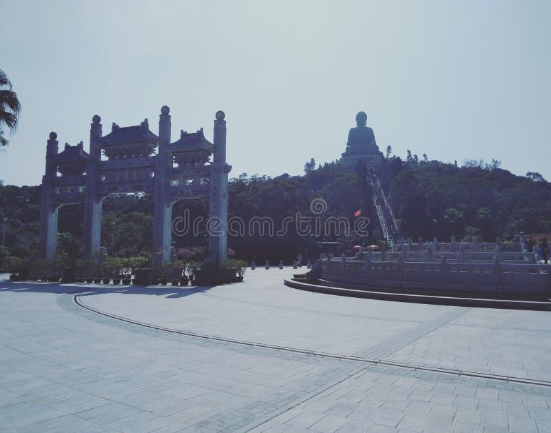Большой Будда Гонконг стоковое изображение rf