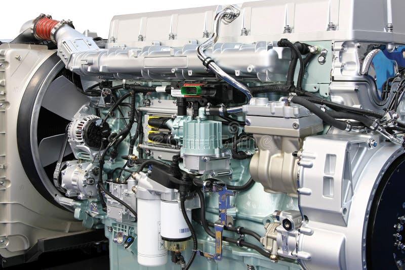 большой двигатель детали стоковое изображение