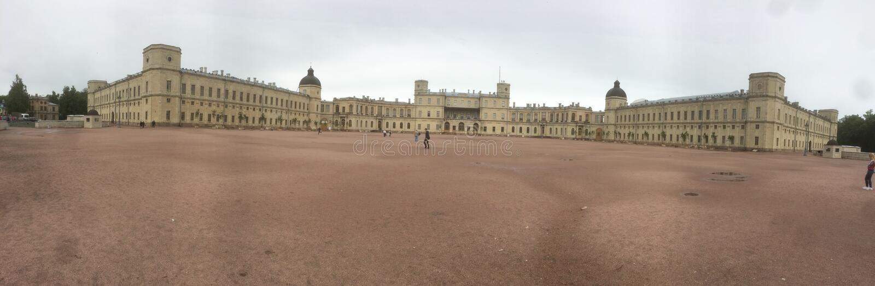 Большой дворец Gatchina стоковое изображение rf