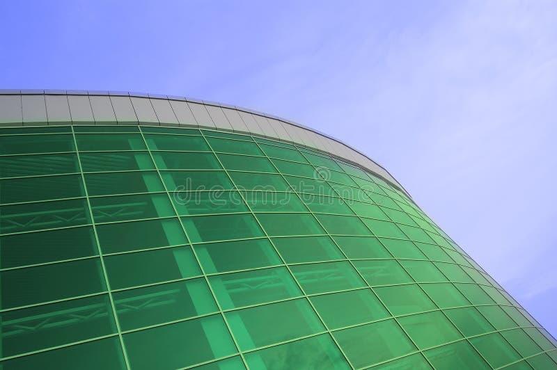 большой здания стеклянный зеленый стоковая фотография