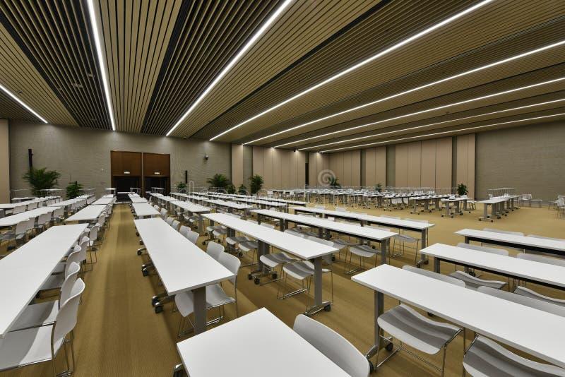 Большой конференц-зал стоковое фото