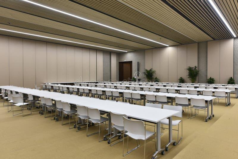 Большой конференц-зал стоковая фотография