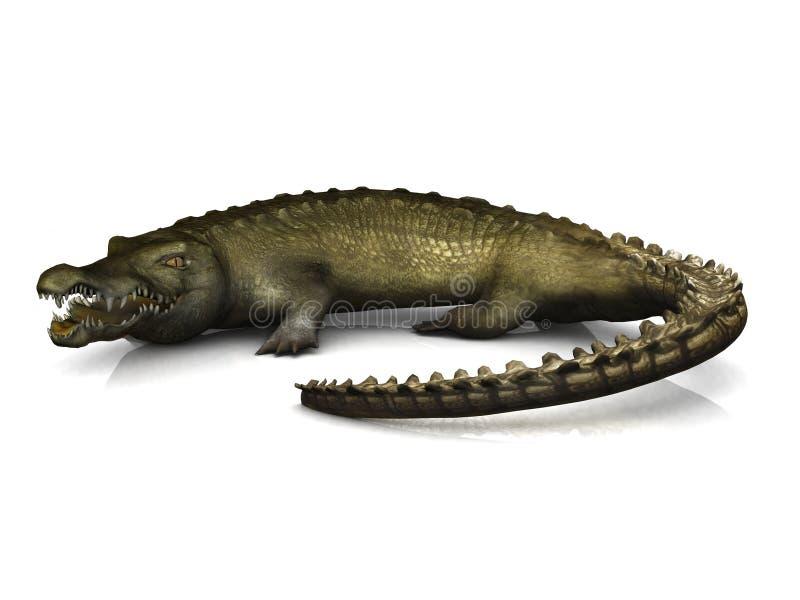 большой крокодил бесплатная иллюстрация