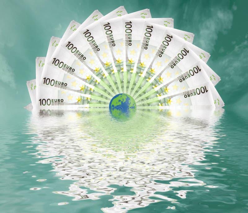 большой мир евро стоковые фото