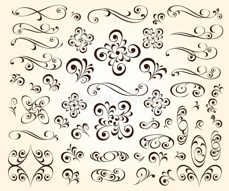 Большой набор элементов дизайна для ваших проектов r иллюстрация вектора