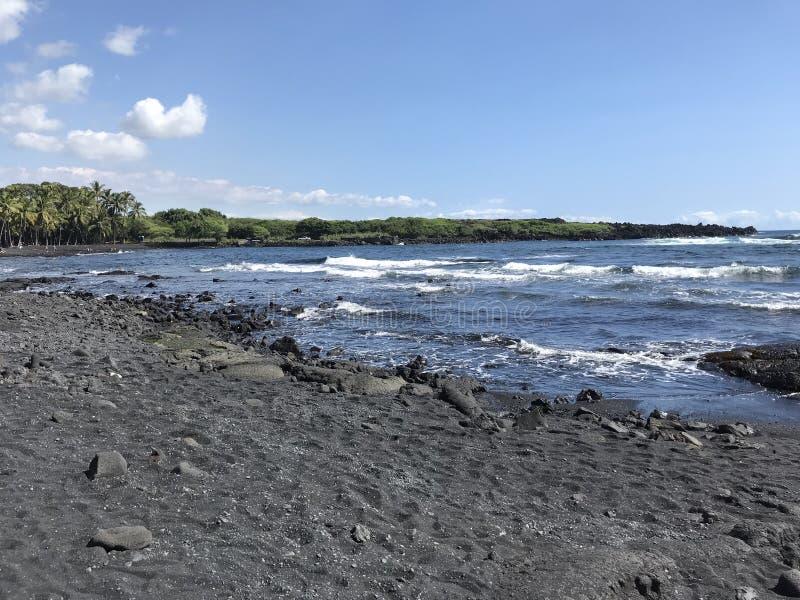 большой остров Гавайских островов стоковое фото