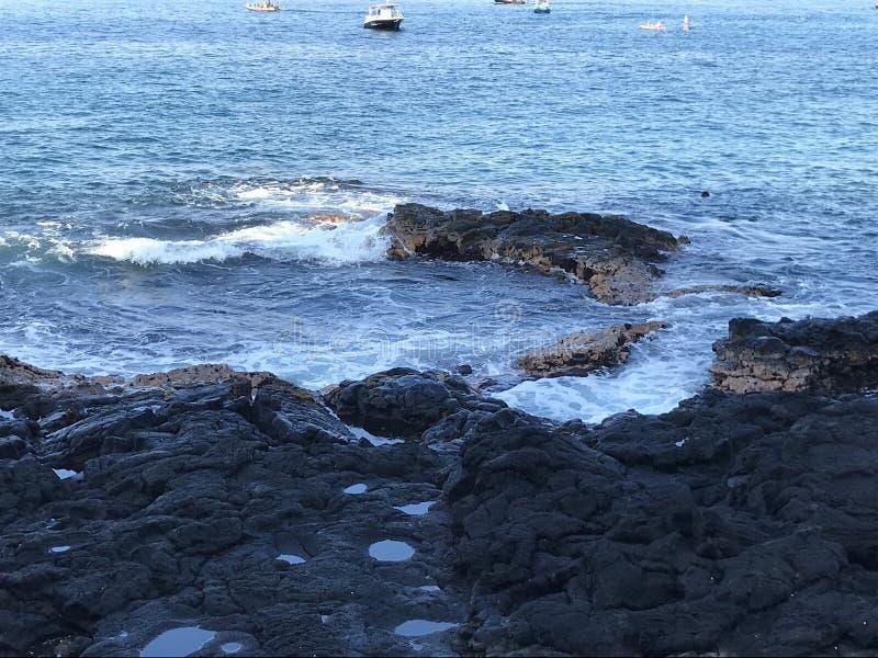большой остров Гавайских островов стоковые изображения