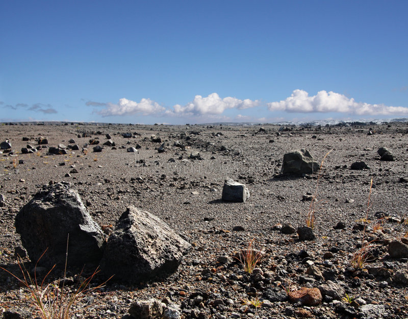 большой остров Гавайских островов Стоковые Фото