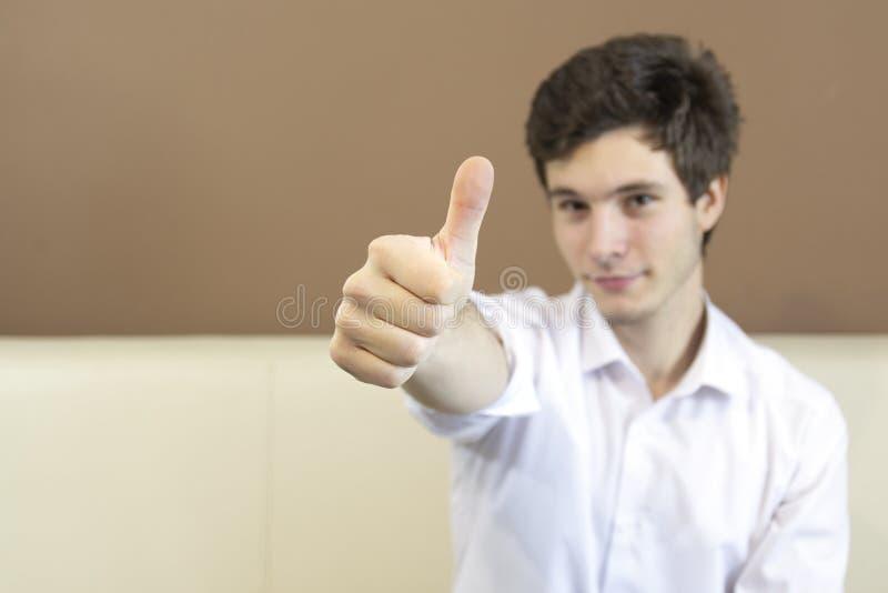 Большой палец руки вверх, оно будет точный стоковые фото
