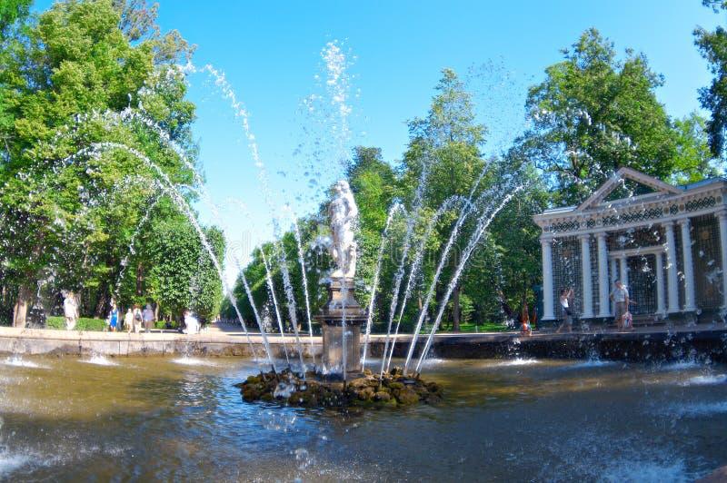 большой парк Россия музеев стоковая фотография