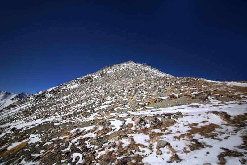 Большой пик Алма-Ата стоковые изображения rf