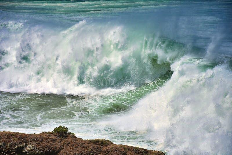 Большой прибой волны стоковая фотография rf