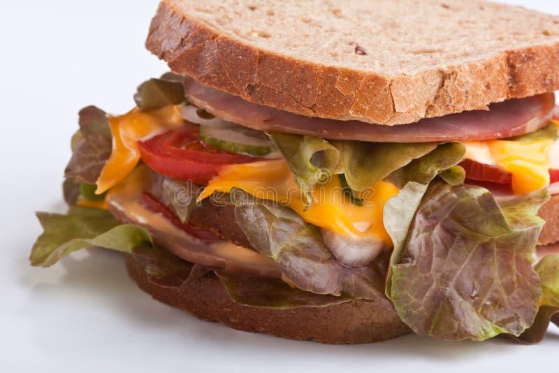 большой сандвич стоковое изображение