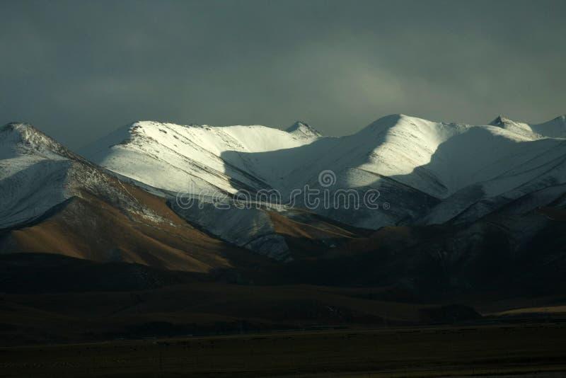 большой снежок горы стоковые фотографии rf