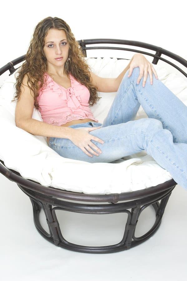 большой стул Стоковые Фото