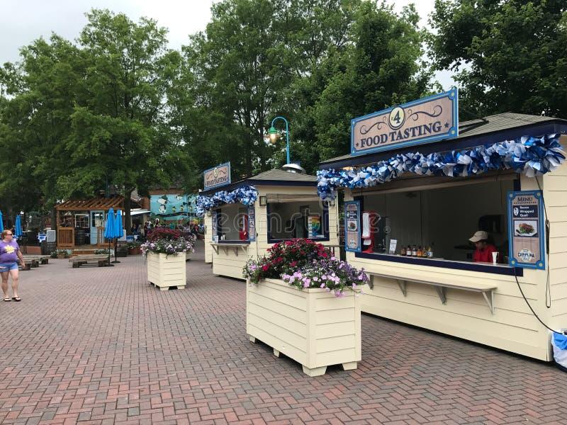 Большой фестиваль Каролины на Carowinds, Шарлотте, NC стоковое изображение