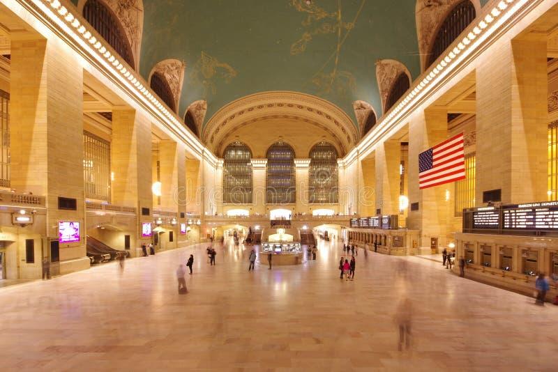 Большой центральный терминал в Нью-Йорке стоковые фотографии rf