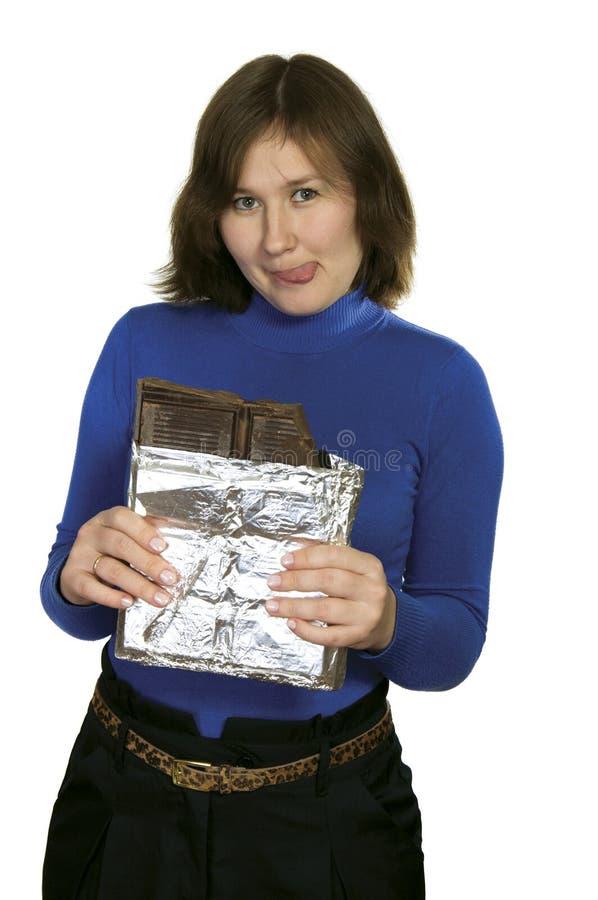 большой шоколад стоковые изображения rf