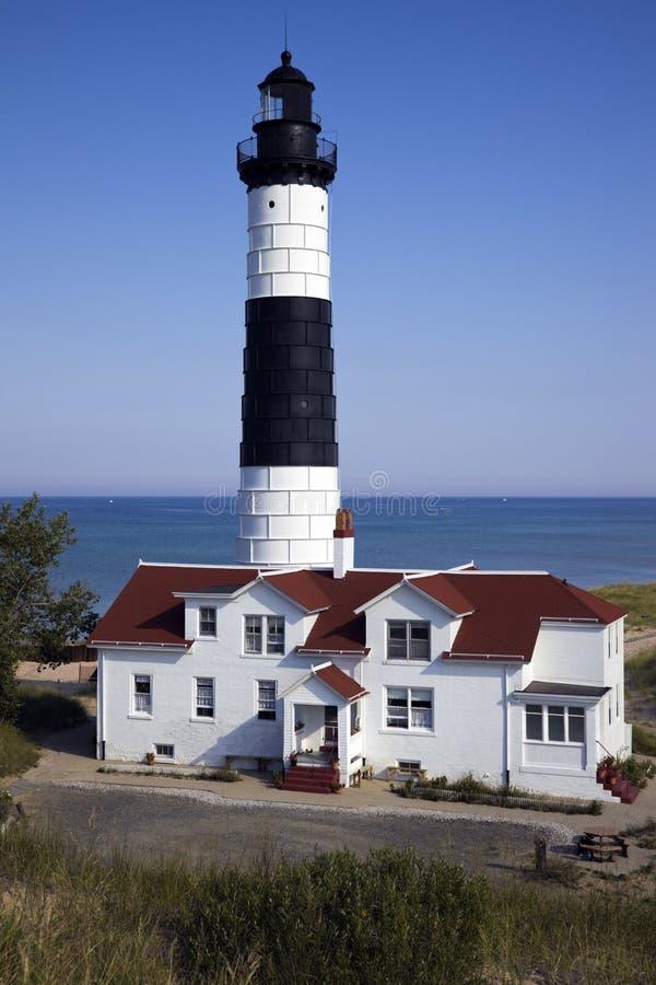 большой sable пункта маяка стоковая фотография