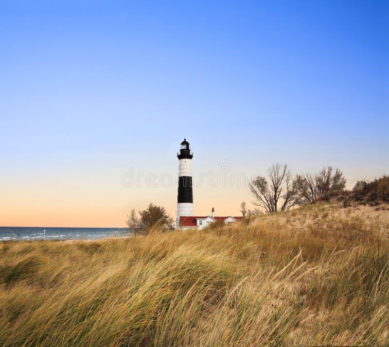 большой sable пункта маяка стоковое фото rf