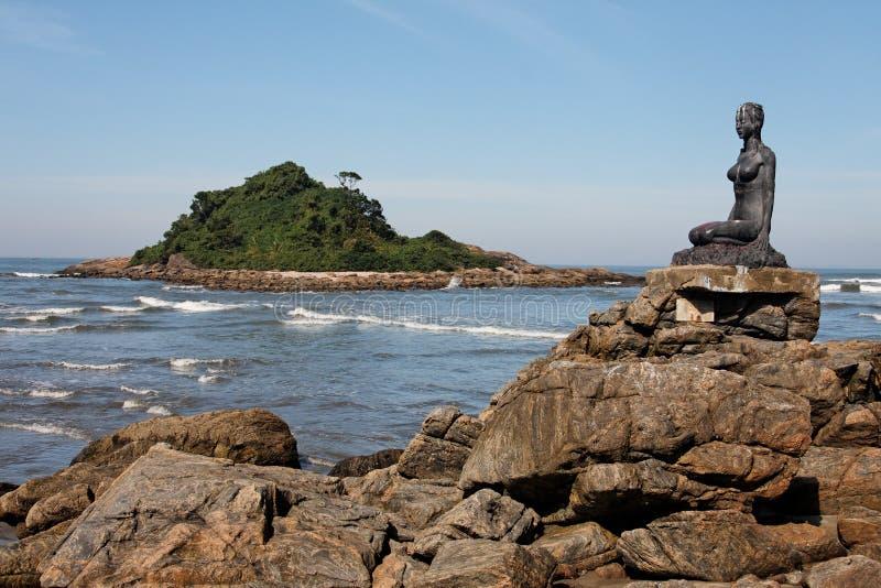 большой sao praia paulo стоковые изображения rf