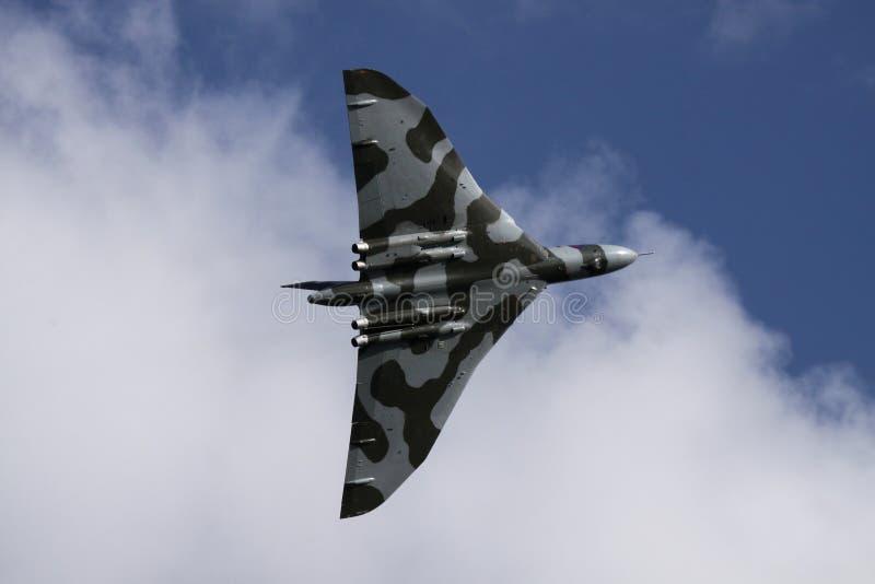 бомбардировщик vulcan стоковое изображение