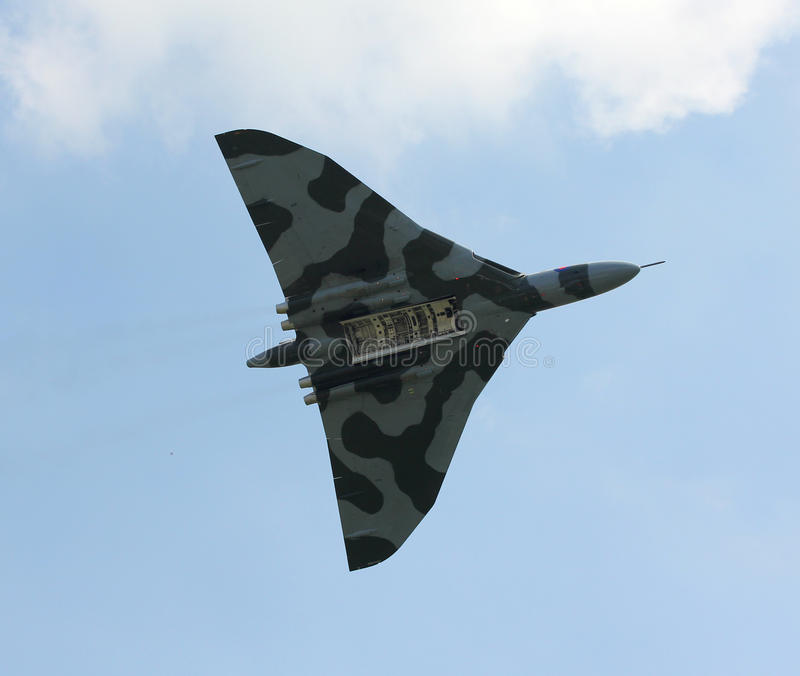 Бомбардировщик Vulcan стоковые фотографии rf