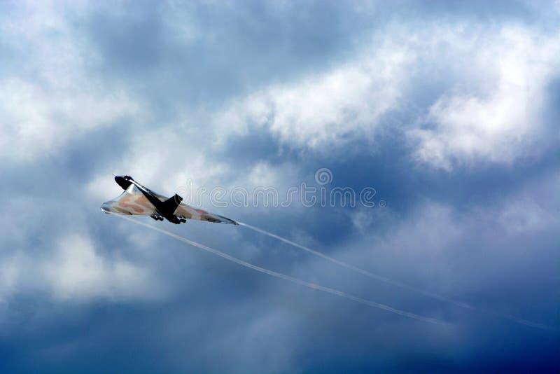 Бомбардировщик Vulcan стоковые фото