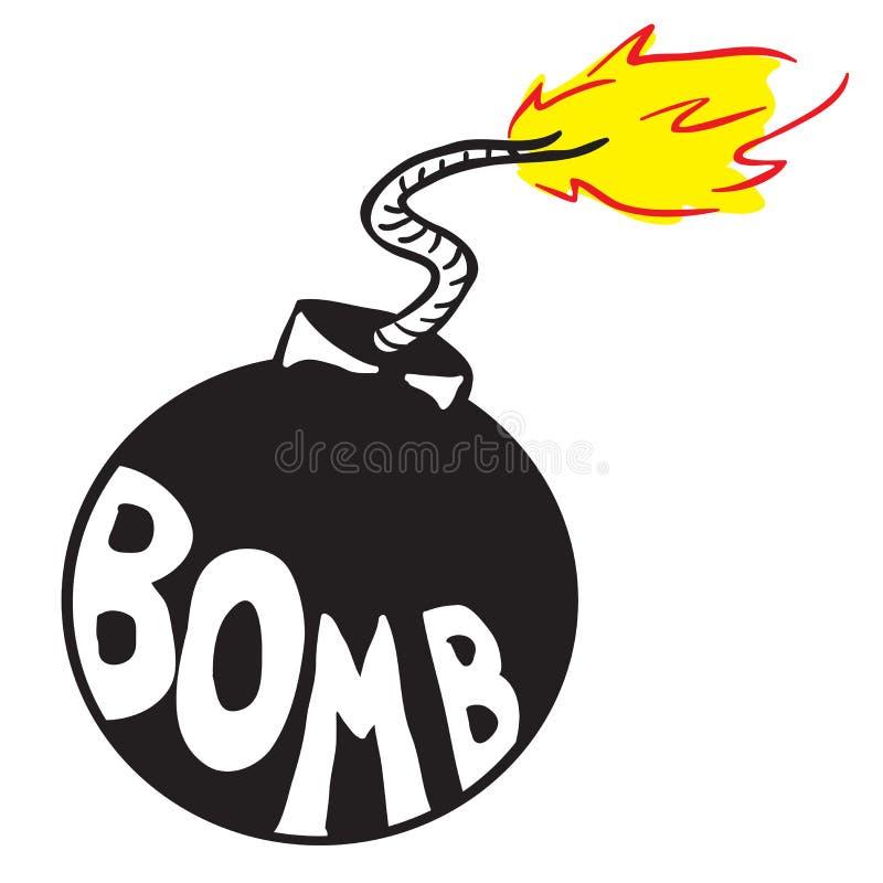 Бомба бесплатная иллюстрация