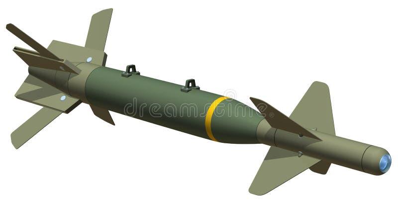бомба gbu24 бесплатная иллюстрация