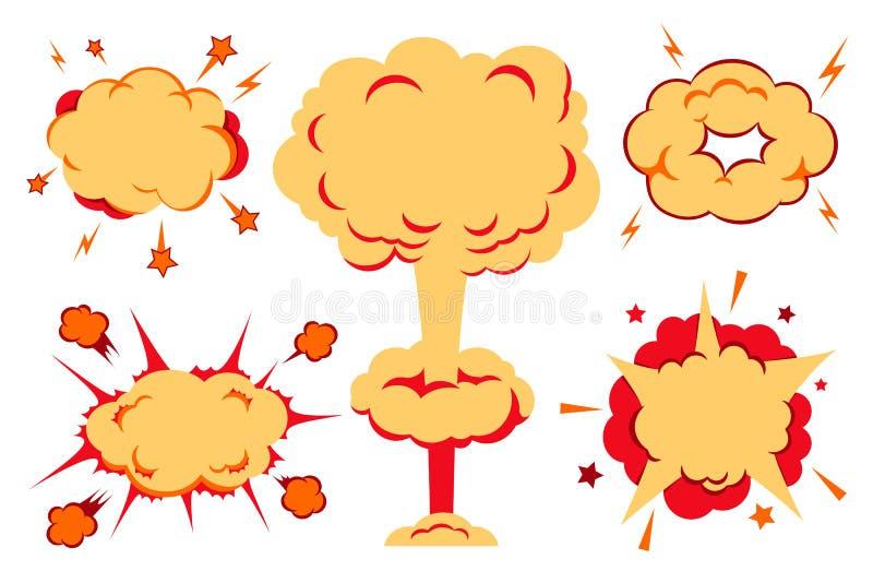 Бомбы и комплект взрыва также вектор иллюстрации притяжки corel иллюстрация штока