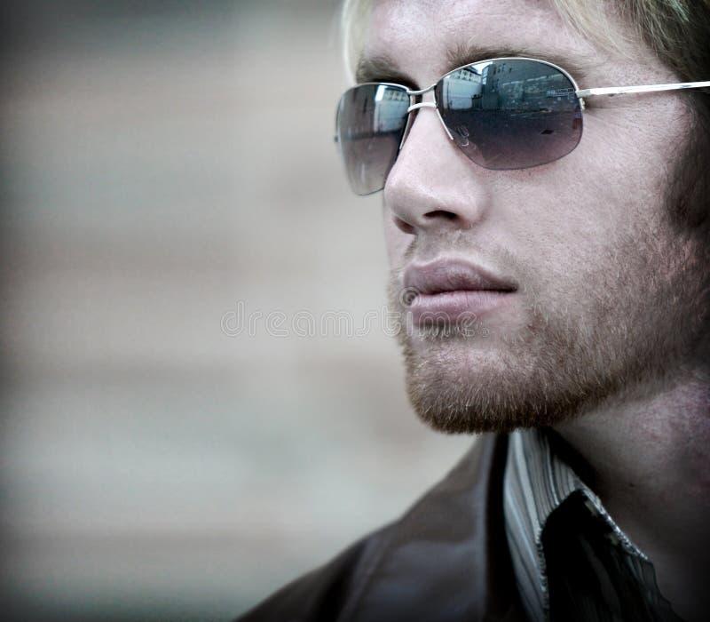 бородатый человек стоковая фотография