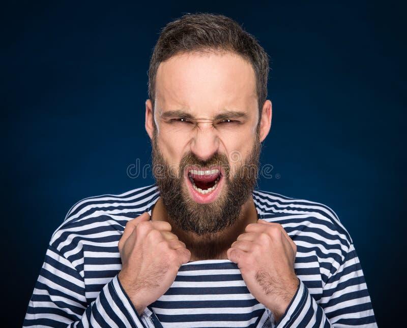 бородатый человек стоковые фотографии rf