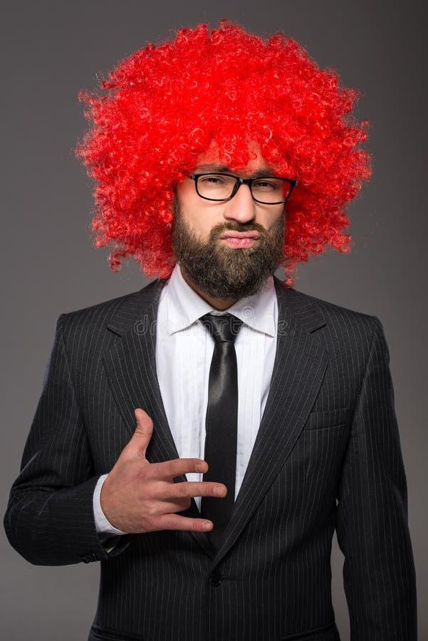 бородатый человек стоковое фото