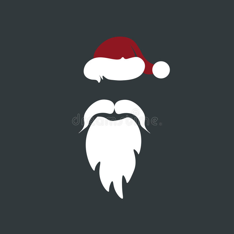 Борода, усик, шляпа стоковое фото rf