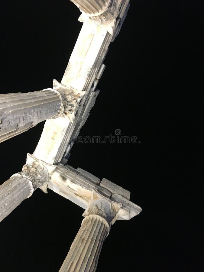 Бортовой висок Аполлона стоковое фото