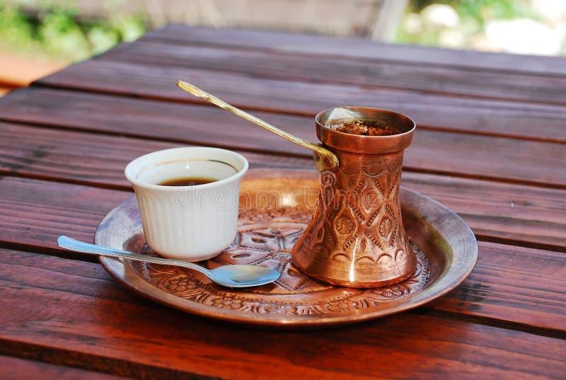Боснийский кофе 3 стоковое изображение