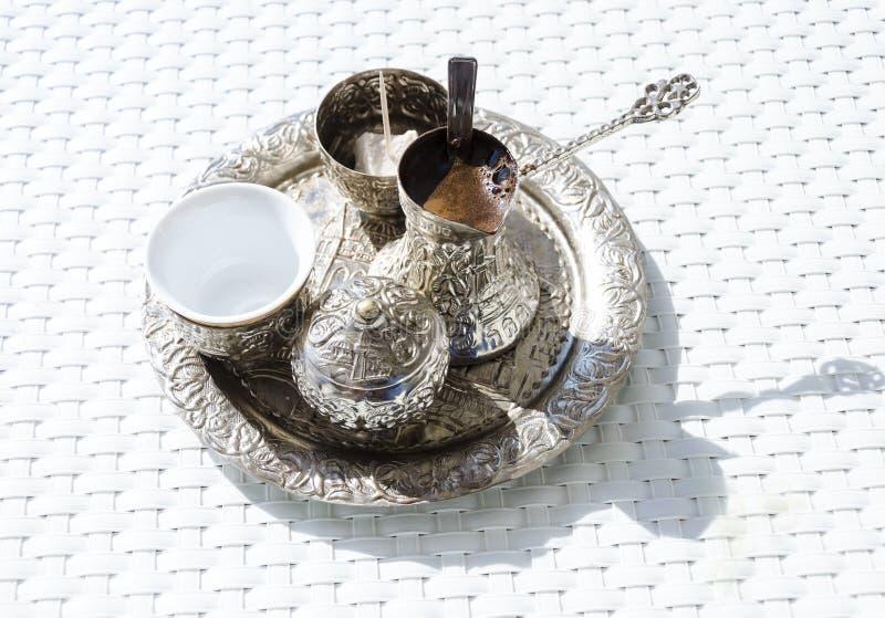 боснийский кофе стоковые изображения