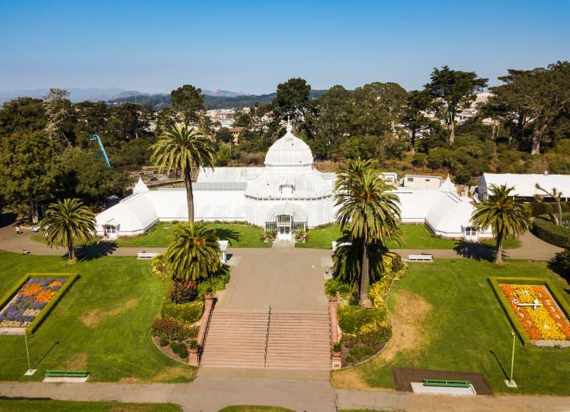 Ботанические сады в Golden Gate Park в Сан-Франциско Калифорнии стоковая фотография rf