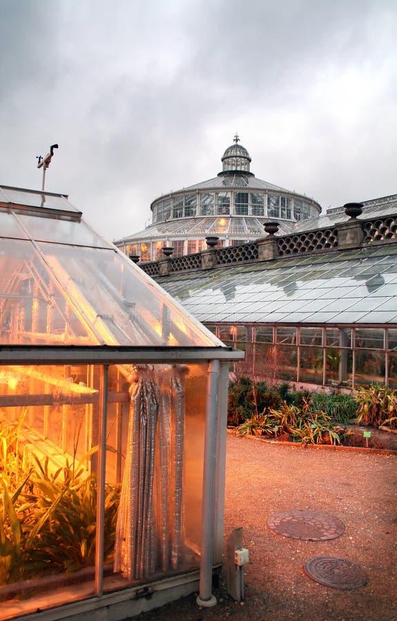 ботанические сады стоковое изображение