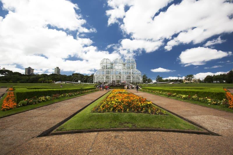 ботанические сады curitiba Бразилии стоковые фотографии rf