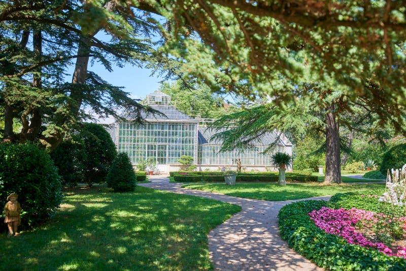 Ботанический сад ¾ ana SeÅ, XIX века, Словении стоковые изображения