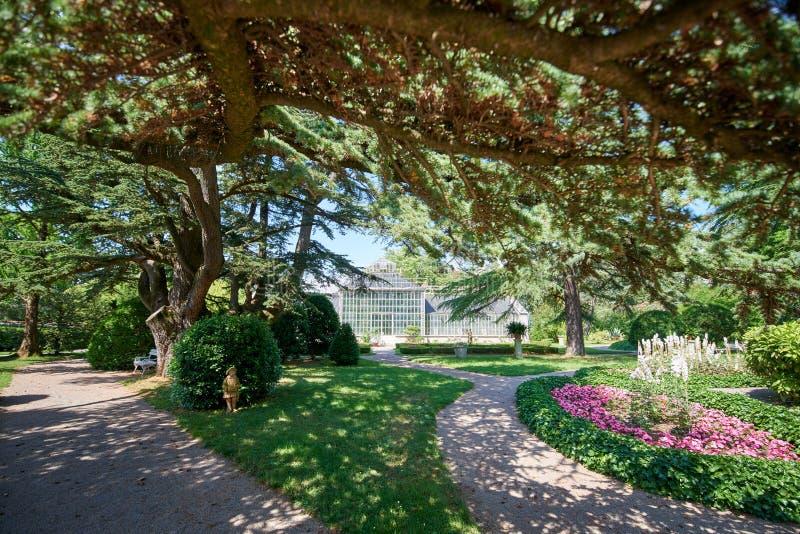 Ботанический сад ¾ ana SeÅ, XIX века, Словении стоковая фотография