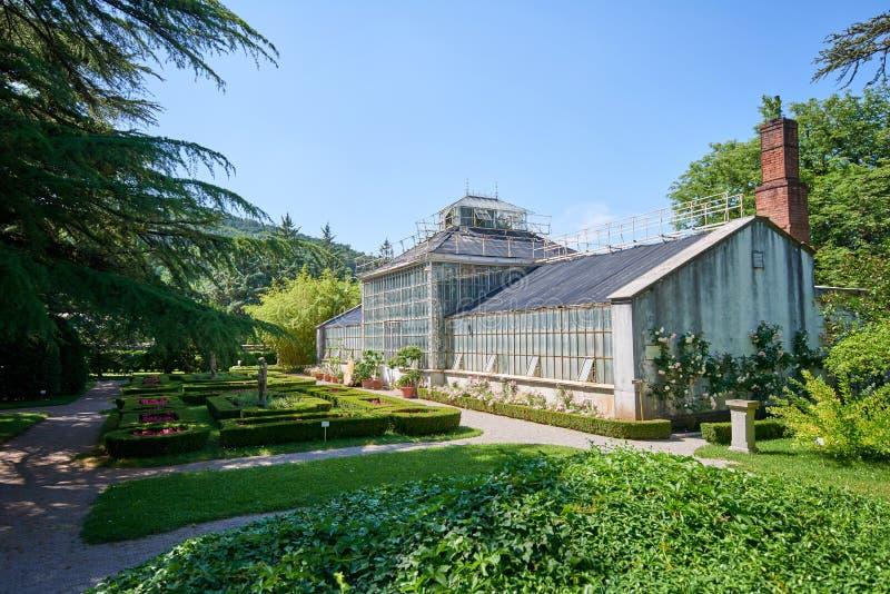 Ботанический сад ¾ ana SeÅ, XIX века, Словении стоковые фотографии rf