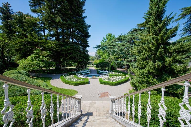 Ботанический сад ¾ ana SeÅ, XIX века, Словении стоковое изображение rf