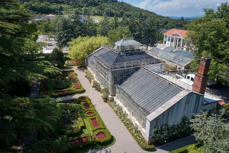 Ботанический сад ¾ ana SeÅ, XIX века, Словении стоковое фото rf