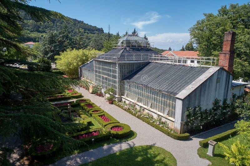 Ботанический сад ¾ ana SeÅ, XIX века, Словении стоковые изображения rf